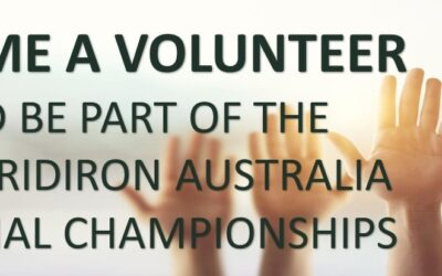 Volunteers for 2020 National Championships