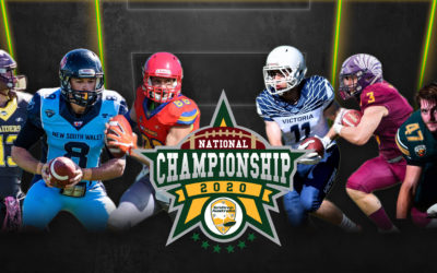 PRESS RELEASE: 2020 Gridiron Australia National Championships