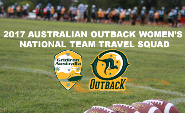 Australian Outback Women's National Team Announced ...