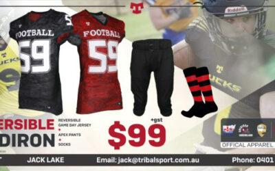 Reversible Jersey from GA's Uniform Partner Tribal Sport